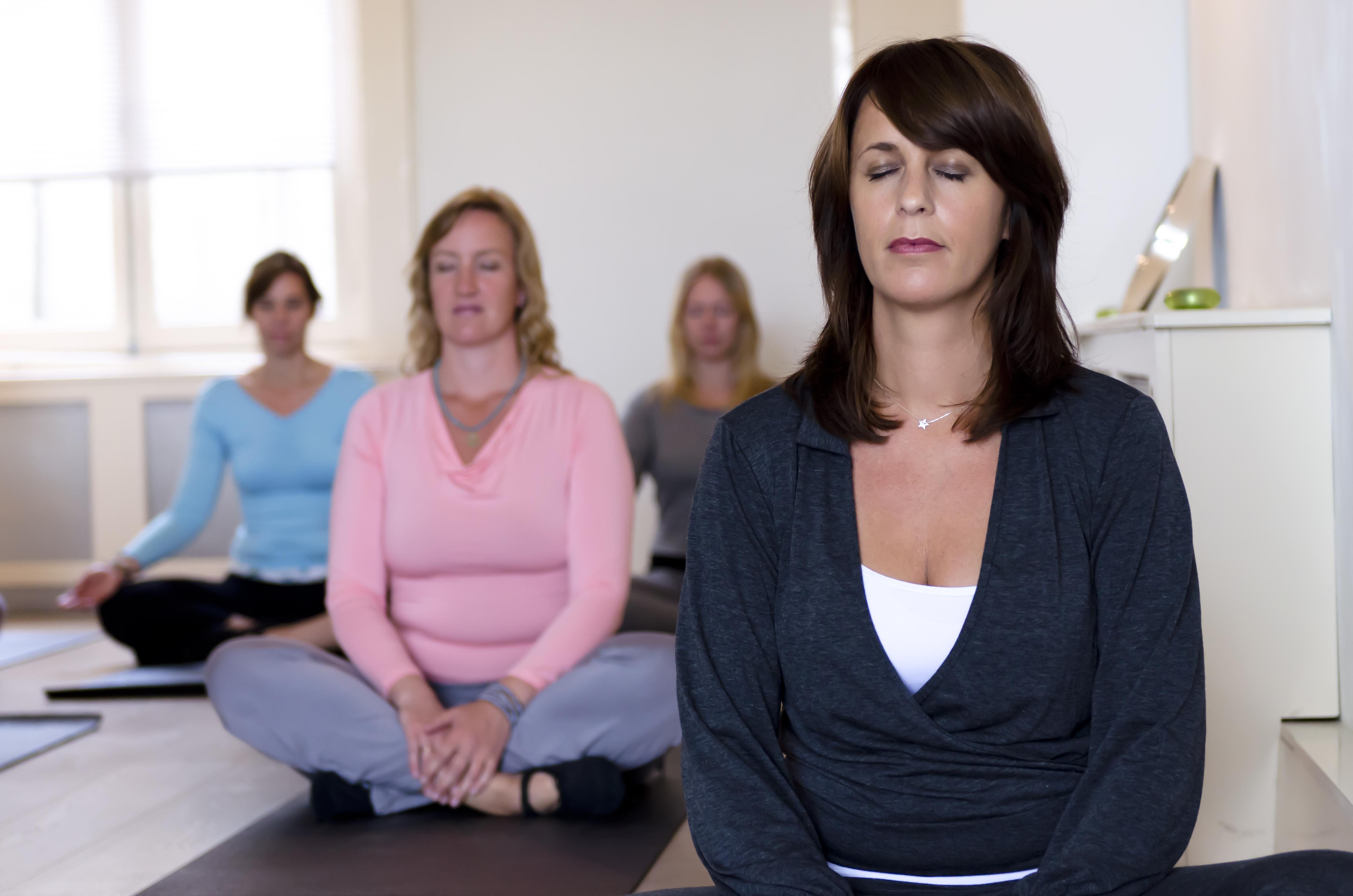 mindfulness yoga & meditatie