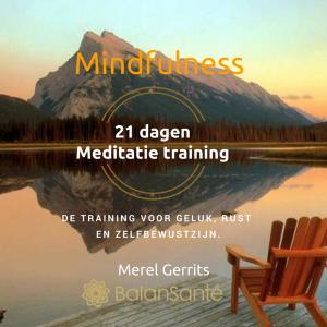 mindfulness-21-dagen-meditatie-training-merel-gerrits cadeau bij de mindfuleness opleiding